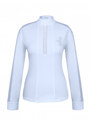 FAIR PLAY Koszula konkursowa Claire Pearl biała