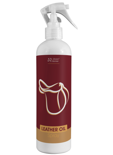 Leather Oil Spray Over Horse