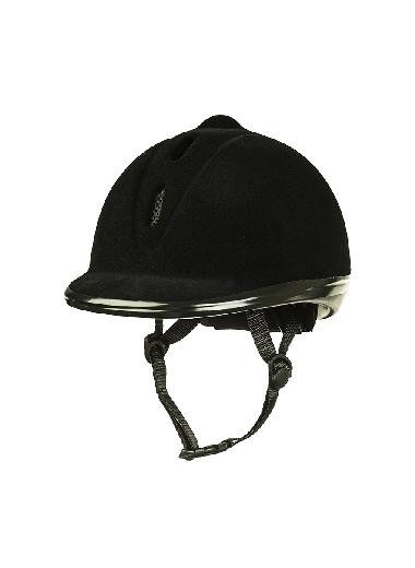 HKM Kask pokryty welurem 52-55 cm XS