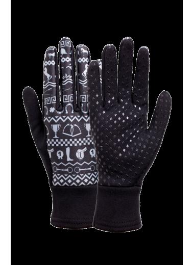 Rękawiczki FP CORTINA czarne polarowe