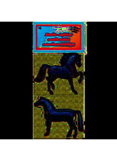 Horsenjoy Naklejki metaliczne