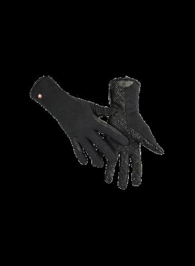 Rękawiczki -Professional Fleece & Silicon czarne