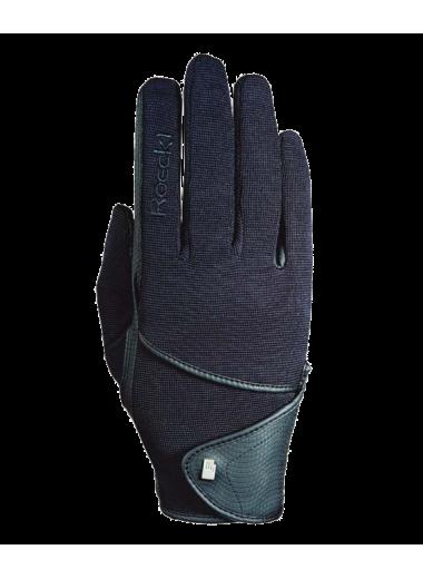 ROECKL Rękawiczki Madison granatowe