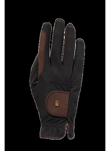 ROECKL Rękawiczki Malta czarny/mokka