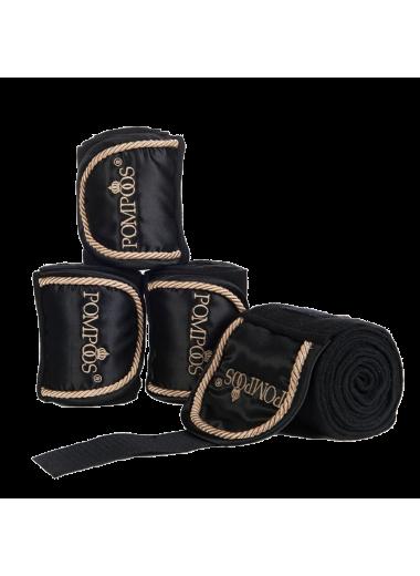 HKM Bandaże polarowe Pompoos Goldenline 4szt.
