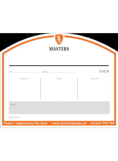 Masters Logowana tabliczka