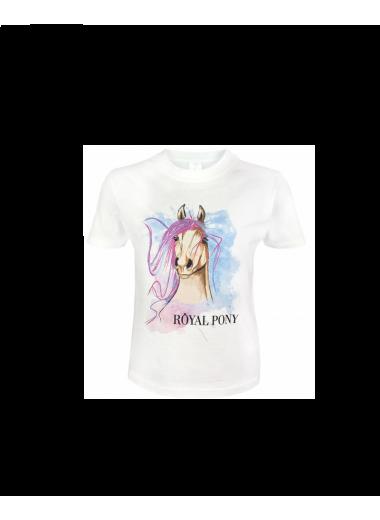 Royal Pony Koszulka z głową konia 24h
