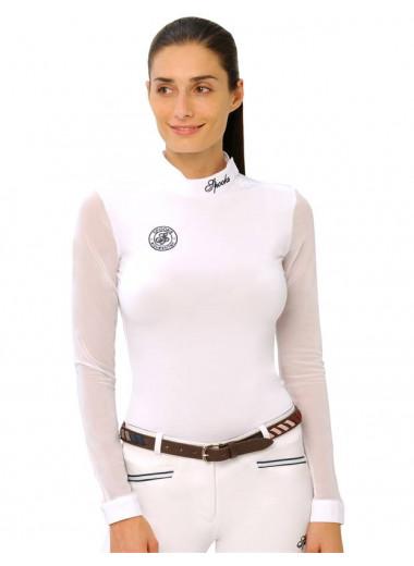 Spooks Koszulka Gemma długi rękaw biały 24h