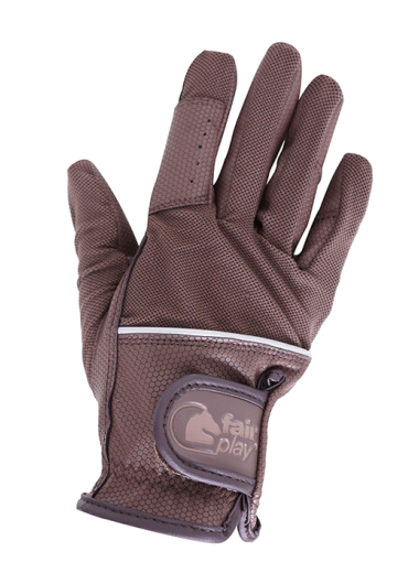 Rękawiczki Fair Play GRIPPI brązowy