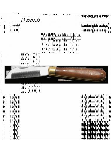 - WALDHAUSEN Nóż składany do trymowania grzywy 24h
