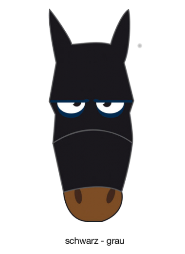 Pfiff Maska przeciw owadom śmieszne wzory 24h