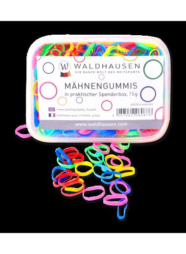 Waldhausen Gumki do grzywy kolorowe w pudełeczku 24h