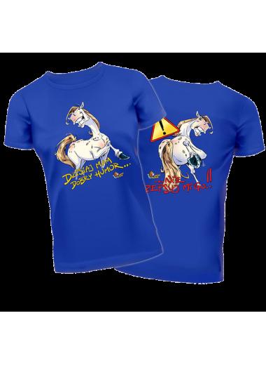 "Lucky Horse Koszulka ""Poczucie humoru"" 24h"