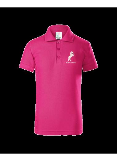 Royal Pony Koszulka POLO różowa 24h