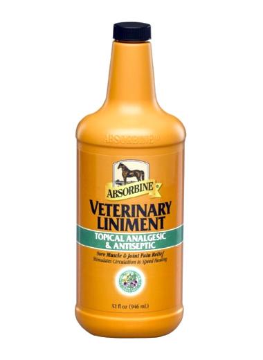 ABSORBINE Veterinary Liniment - Liquid Embrocation 475 ml